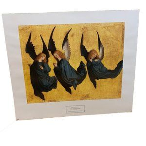 Three Hovering Angels by Meister des Hausbuches